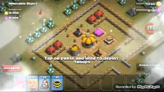 Clash of Clans | Immovable Object Village Raided | 3 Star