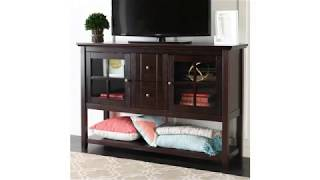 "View and Review for Indoor Furniture! WE Furniture 52"" Console Table Wood TV Stand Console, White"