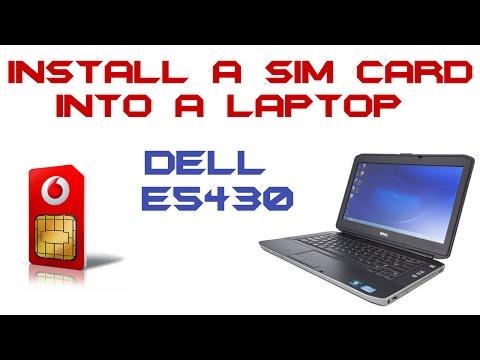 How To Install A Sim Card Into A Laptop - Dell Latitude E5430