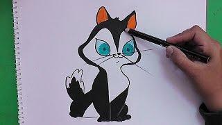 Como dibujar y colorerar paso a paso a Cleo - How to Draw and colorerar step to Cleo