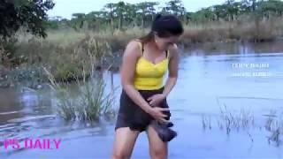 Amazon Ormanlarında Balık Böyle Yakalanır