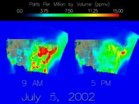 'Revolutionary' CO2 Maps Zoom In On Greenhouse Gas Sources