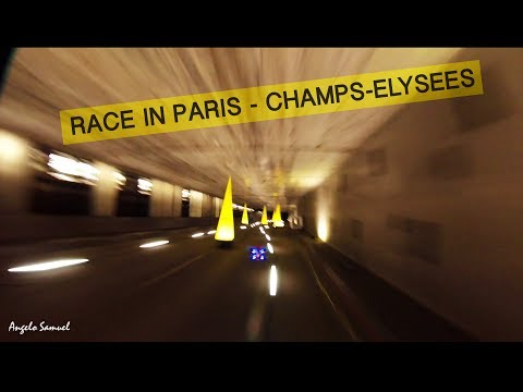 Drone Champions League in Paris Champs-Elysees - FPV Racing - 2017