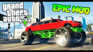 SUPER MONSTER LIMUSINA !!! GTA V MOD PC EPIC MOD FUNNY MOMENTS GTA 5 MODS Makiman