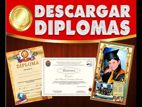 Descarga - diplomas para Editar en diferentes formatos psd
