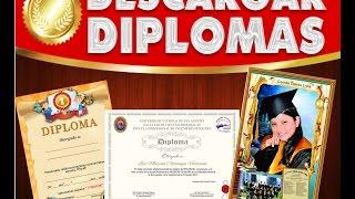Descarga - diplomas Editables en diferentes formatos psd