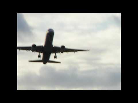 Plane departing from Saint Thomas