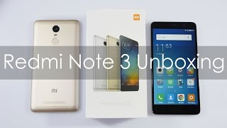 Xiaomi Redmi Note 3 (2GB RAM Model) Unboxing Indian Retail Unit