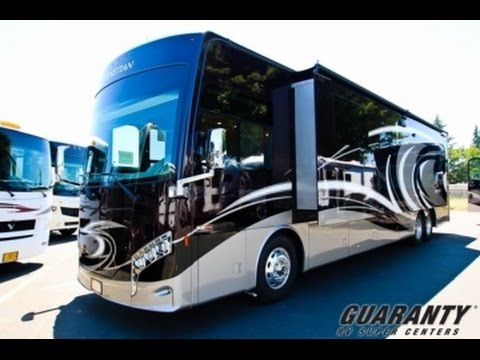 2017 Thor Venetian T42 Class A Luxury Diesel Motorhome Video Tour • Guaranty.com