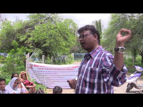 "Prof. K. Y. Ratnam - ""Karamchedu, University of Hyderabad and Annihilation of Caste"""