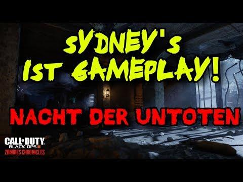 Zombies Chronicles: Nacht der Untoten - Sydney's 1st Gameplay!