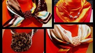 Платки~шарфы~палантины/2ч~Pink Lady