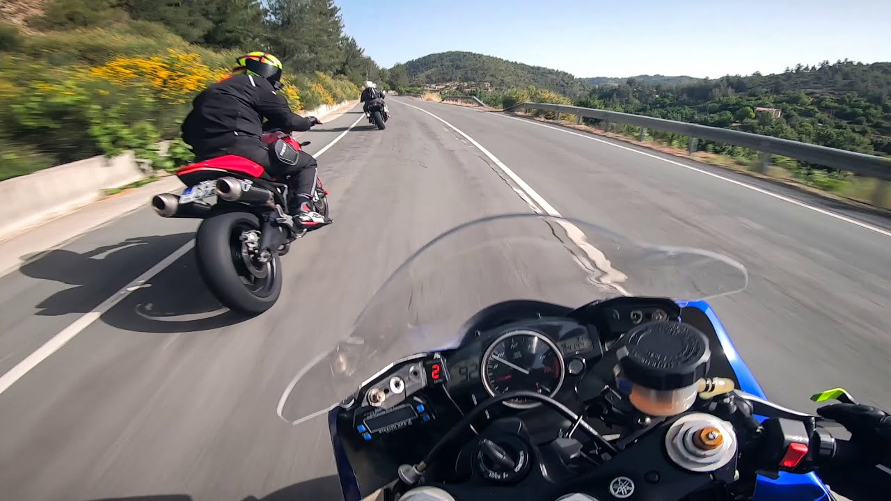 Download Motorcycle Street Riding With Yamaha R6