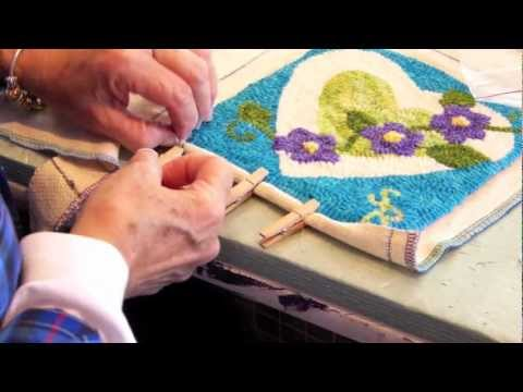 Rug Hooking Tutorial With Sara Beth Black Mountain Wool