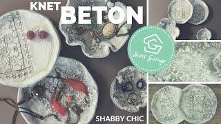 Knetbeton Schalen DIY - Kreativ Beton - Beton Deko selber machen