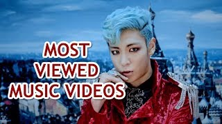 MOST VIEWED K-POP ARTISTS MVS (YG VER)