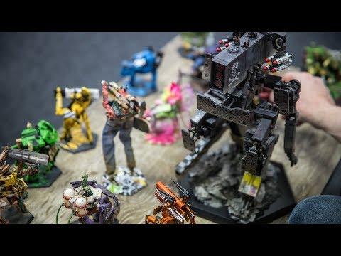 Weta Workshop Artists Make Custom 'Giant Killer Robots'!