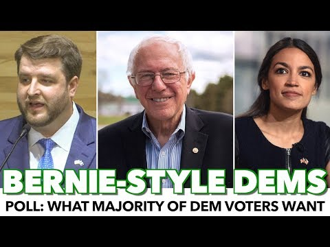 Poll: Dem Voters Want More Bernie-Style Democrats