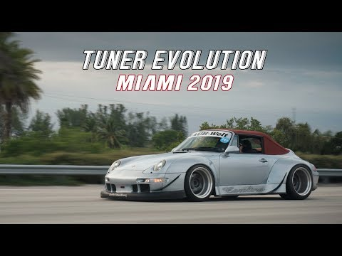 Tuner Evolution: Miami 2019 | HALCYON (4K)