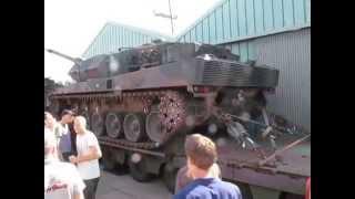 Tekno 2014 Leopard Tank geeft show