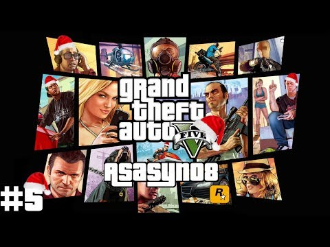#5 Grand Theft Auto V: Zima w Los Santos! [Gameplay PL] | Asasyn08 thumbnail