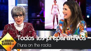 Nuria Roca muestra los preparativos a los que se ha sometido - El Hormiguero 3.0
