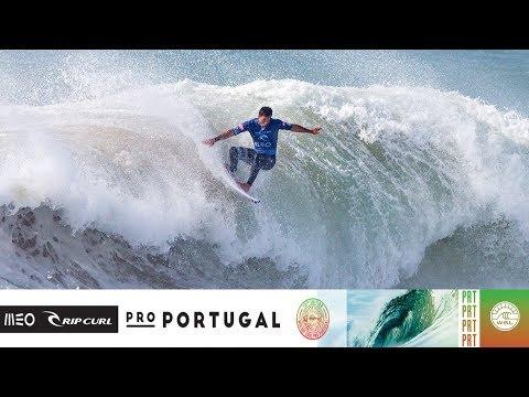 Morais vs. Bourez vs. Medina - Round Four, Heat 2 - MEO Rip Curl Pro Portugal 2018