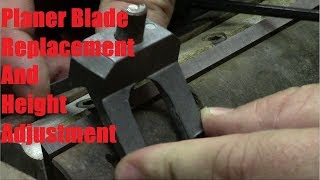 The quickest way to set your thicknesser blades - VidVui