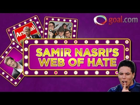 Samir Nasri's web of hate - France and Man City star builds up a portfolio of enemies