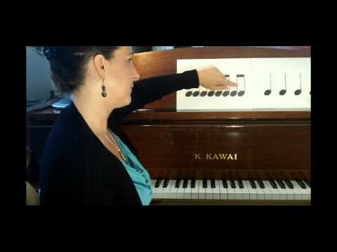 How to Play Piano  The Basics  Rhythm Lesson 1   Tutorial  PianoLessons HD
