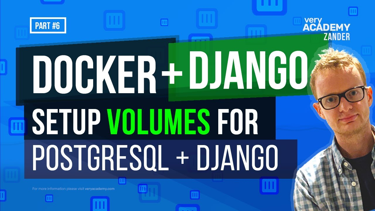 How to create a volume in Docker-Compose for a PostgreSQL database