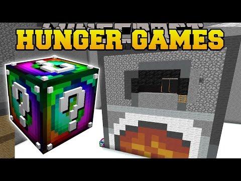 Minecraft: WEIRD ROOM HUNGER GAMES - Lucky...