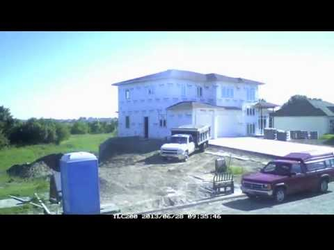 Time-lapse New Home Build