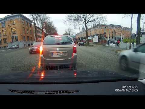 Belgium Brussel/Bruxelles driving dashcam 4k Schaarbeek to Brussels center to Molenbeek part 1