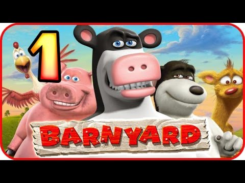 Barnyard Walkthrough Part 1 (Wii, Gamecube, PS2, PC) Chapter 1 Missions Gameplay [HD]