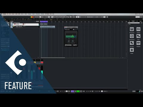 Dual Filter | Effects and Plug-ins Included in Cubase