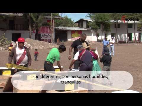 Voluntarios de ACCIONA en Perú
