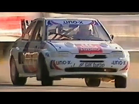 Ford Escort Cosworth RX // 600Hp Monster STRANGE CRASH! - Dirt Hillclimb