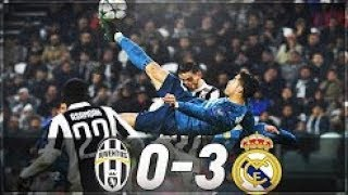 REVIEW Juventus VS Real Madrid 0-3 : UCL 2018 Highlights Power of CR7 Super Player