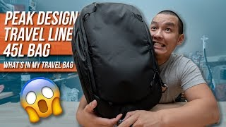 What's In My Travel Bag Ep. 5 - Peak Design Travel Line 45L Backpack Review