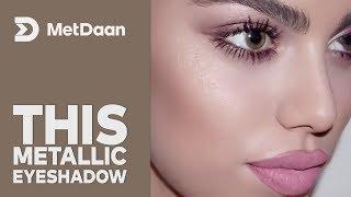 This metallic eyeshadow is amazing