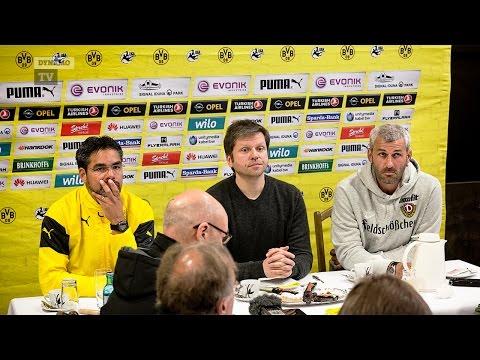 37. Spieltag | BVB II - SGD | Pressekonferenz nach dem Spiel