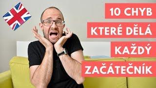10 chyb v angličtině, které dělá každý začátečník