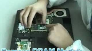 Видео инструкция по разборке ноутбука MSI ER710 MS-171B(, 2012-02-26T13:10:09.000Z)