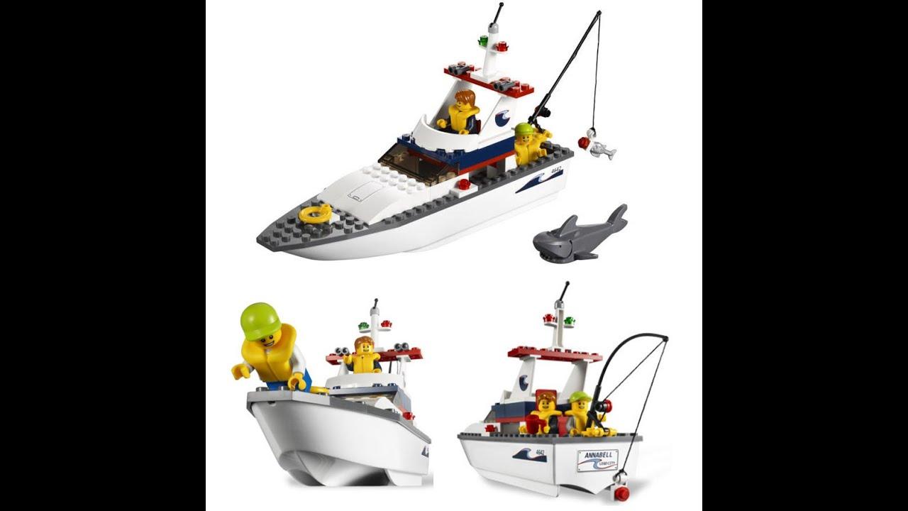 LEGO City Fishing Boat, Toys For Kids, Lego Toys - YouTube