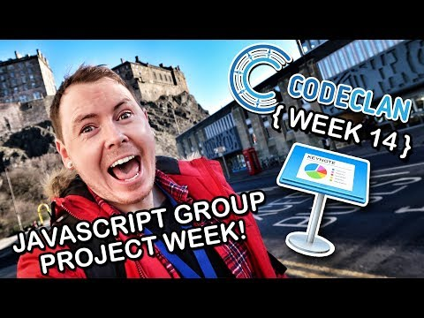 | THE ROAD TO CODE | Week 14: JavaScript Group Project Week | CodeClan Edinburgh |
