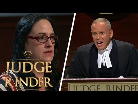 Furious Judge Rinder Kicks Fraud Out of Court | Judge Rinder