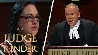 Furious Judge Rinder Kicks Fraud Out of Court   Judge Rinder