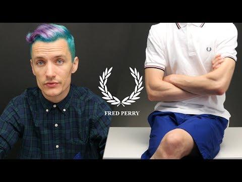 Fred Perry LOOK - летний вариант хулигана