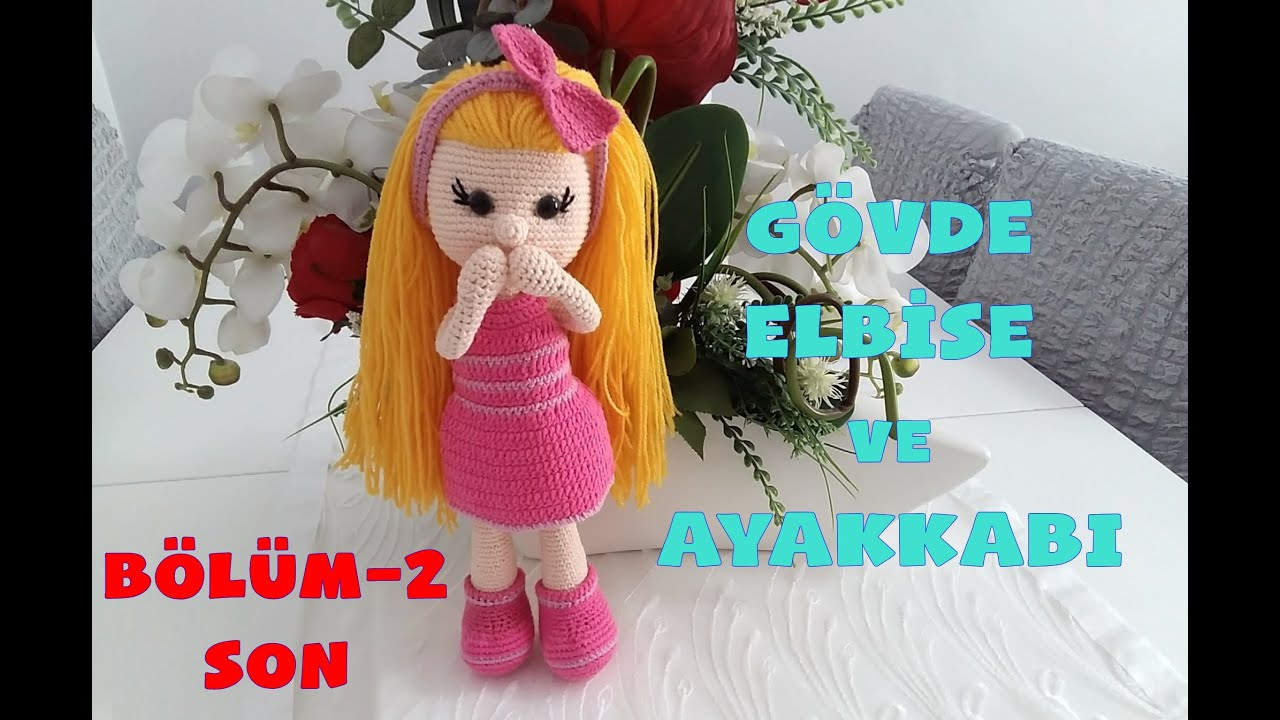 Amigurumi Doll Nisa Free Crochet Pattern - Crochet.msa.plus   720x1280